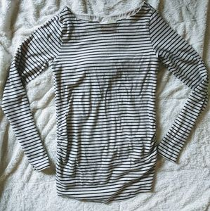 H&M Striped Maternity Top